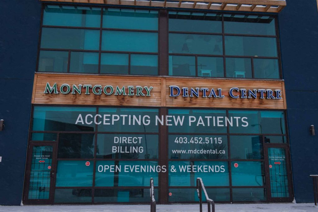 Building Entrance | Montgomery Dental Centre | NW Calgary | Family and General Dentist